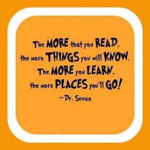 Dr Seuss Famous quote