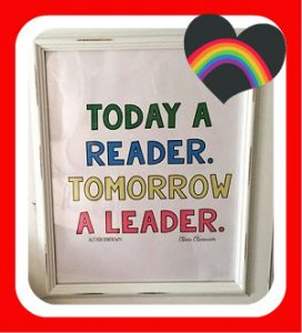 Today a reader , tomorrow a leader quote