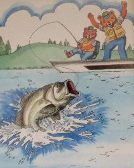 My Fishing adventure personalized storybook