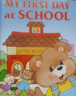 My First Day at School- Personalized Storybook