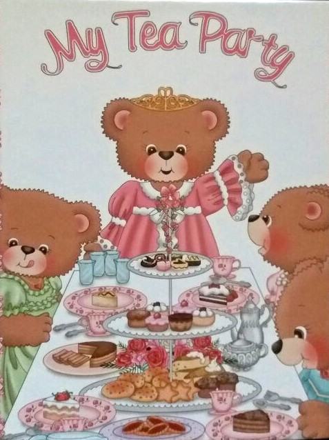 My Tea Party Personalized Storybooks